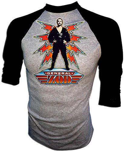 Original 1980 D.C. Comics Superman II General Zod Movie Licensed Vintage Print Unused Concert T-Shirt