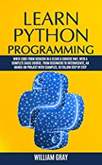 You are about to learn how to start writing the kind of code that runs core parts of YouTube, Facebook, NASA, Yahoo!, Mozilla, Uber, Spotify, Dropbox, Instagram, Pinterest and many others!                        The...