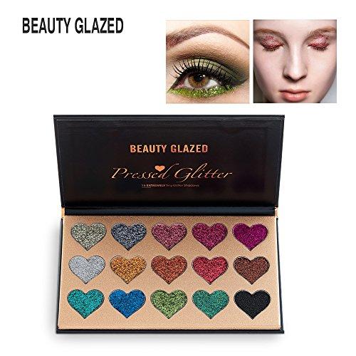 glitter shimmer eye shadow palette