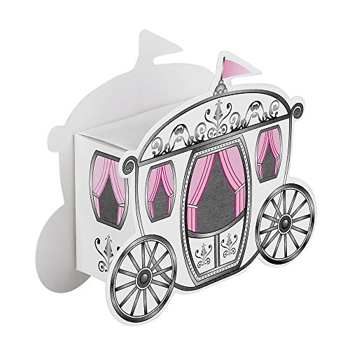 30pcs DIY Paper Carriage Wedding Favor Boxes Baby Shower Candy Box of Party Decorations