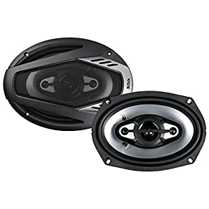 BOSS Audio NX694 800 Watt (Per Pair), 6 x 9 Inch, Full Range, 4 Way Car Speakers (Sold in Pairs)