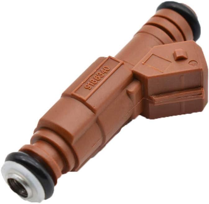 5PCs Fuel Injector for Volvo C70 S60 2.4L 2.5L 2.8L 2.9L 1998-2009 OEM# 0280155831 9186340