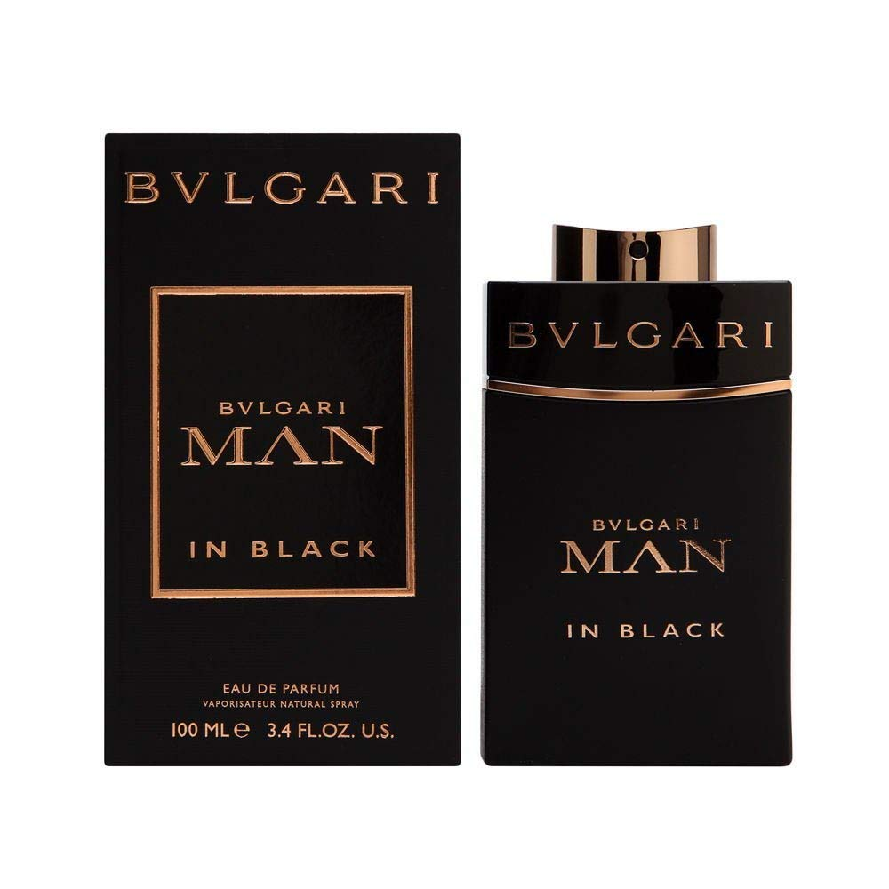 Bvlgari Man in Black Eau de Parfum Spray for Men, 3.4 Ounce by BVLGARI