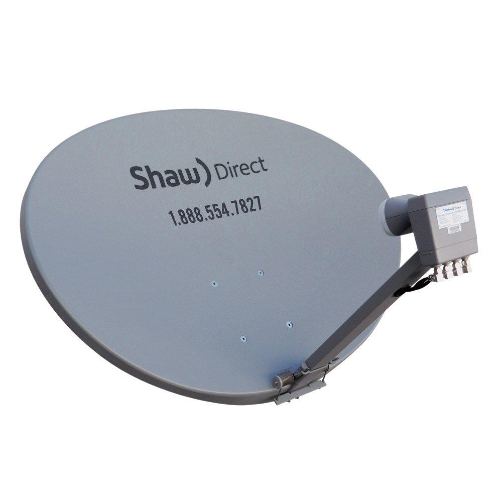 Winegard SKA-733 TRAV'LER Shaw Direct RV Satellite TV Antenna (Stationary,  Roof Mount, Multi-Satellite, Multi-TV, Fully Automatic) - Reflector Kit