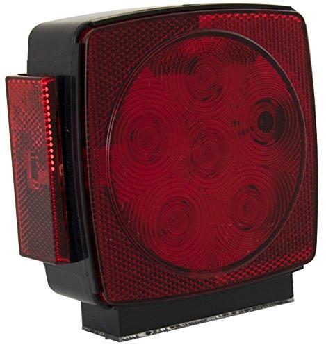 Blazer C7483RTM LED Square Submersible Stop/Tail/Turn Light - Left Hand Side - (Blazer Trailer Lights)