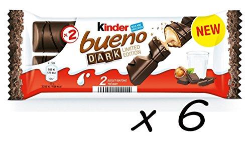(Kinder Bueno Dark Chocolate, 43g (Pack of 6))