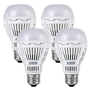 Lampadine Led E27 Luce Calda,SANSI 9W Lampadina Dimmerabile 3000K Super Luminoso 900lm 100W Lampada per Soggiorno… 51uOB5rN3jL. SS300