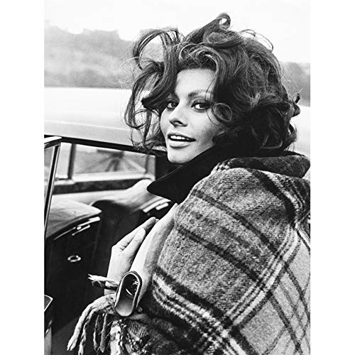 Sophia Loren Actress - VINTAGE PHOTOGRAPHY ACTRESS SOPHIA LOREN SEXY STAR 18X24'' POSTER ART PRINT LV11301