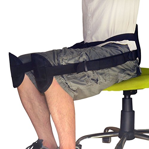 Equals Senven Back Support Belt, Adjustable Lumbar Support Straps For Posture Correction Suitable in Office or At Home or Outdoors (Bodybuilding Devices)
