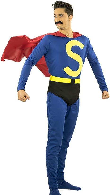 LIMIT Disfraz Super HEROE ESPAÑOL BIGOTEMAN: Amazon.es: Productos ...