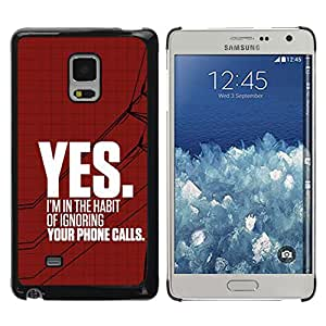Exotic-Star ( Ignore Heartbreak Angry Red Text ) Fundas Cover Cubre Hard Case Cover para Samsung Galaxy Mega 5.8 / i9150 / i9152