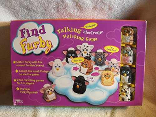 Find Furby Talking Electronic Matching Game from TIGER ELECTRONICS NEW VERY RARE from Furby