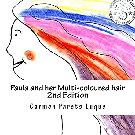 Paula and her Multi-coloured Hair