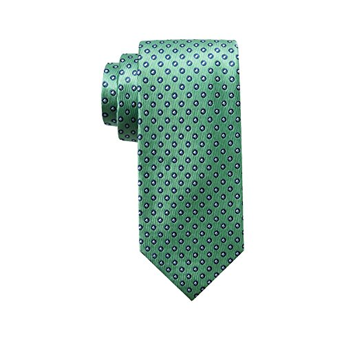 - Chaps Men's Circle Dot Tie, Green, One Size