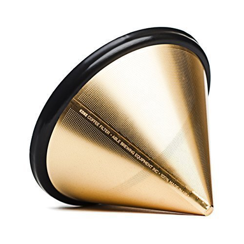 ABLE KONE coffee filter 3RD GENERATION Gold Limited Edition (japan import) by K.ONE