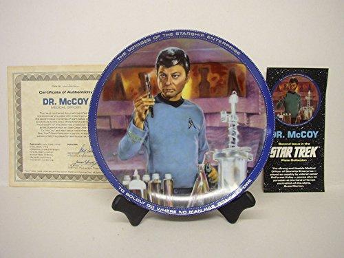 Star Trek Plate Collection~Dr. McCoy (Medical -