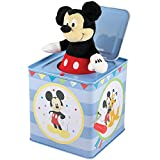 Mickey Mouse Jack In The Box Instrument Kids Toys Baby Music PlayDisney New, Rocket Science Toys, 2018