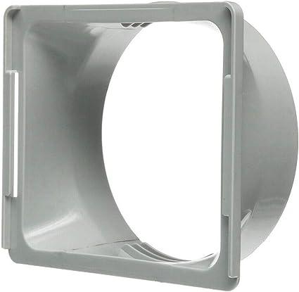 LoveOlvidoD 15CM Aire Acondicionado port/átil Ventana Tubo de Escape Conducto Manguera Interfaz Conector Kit de Ventana Adaptador para el hogar Blanco