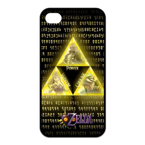 Fayruz- The Legend of Zelda Protective Hard TPU Rubber Cover Case for iPhone 4 / 4S Phone Cases A-i4K87