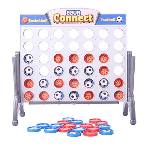 テーブルゲーム 立体 四目並べ ボードゲーム おもちゃ 家族 楽しめる 卓上 アナログ トラベル ゲーム 知育玩具 小型携帯 サッカー バスケットボール チェス Prosperveil
