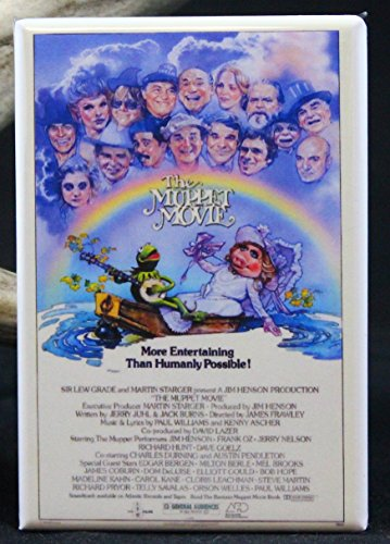 The Muppet Movie Poster Refrigerator Magnet.