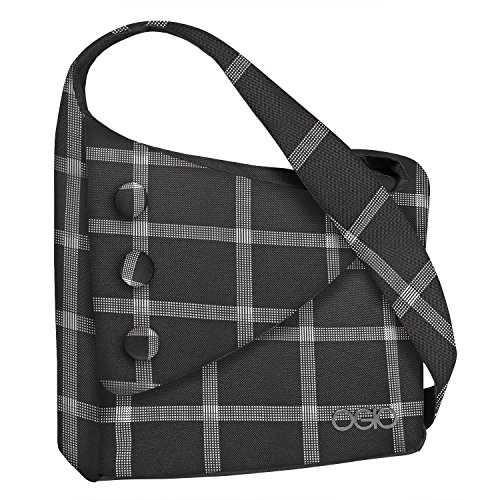 OGIO Women's Windowpane Brooklyn Purse Tablet Pouch, Black