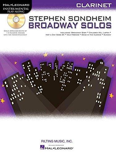 Sondheim Broadway Solos Clarinet Book/CD Play-Along (Hal Leonard Instrumental Play-Along)