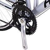 Hiland Road Bike Steel 700C Racing Bicycle for