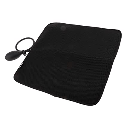 IPOTCH Cojín Lumbar Hinchable Cuadrado Portable con Bomba Pequeña ...