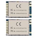 Wireless Transceiver Module FCC/CE/RoHS Certified RF2401F20 2.4G 2pcs