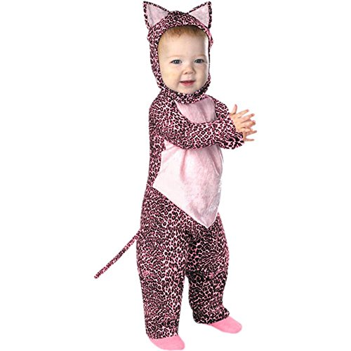 Baby Infant Pink Leopard Halloween Costume 12-18M (Pink Leopard Infant Costume)