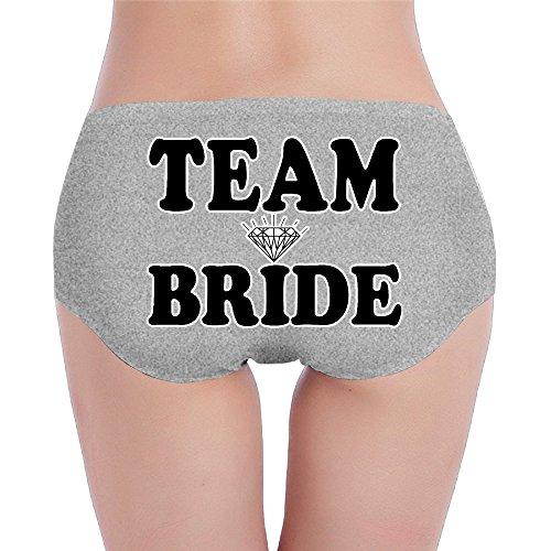 Bridesmaids Team Bride Wedding Women's Comfort Soft Low-Rise Brief (Destiny Bride Bridal Shops)