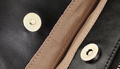 XRKZ Portable Beige en Mode en Main Blanc De Cuir Dames 15 35 Sac Beige élégant Cuir à 5 Sac Noir 25 Relief De en CM Et qx7StZwqr