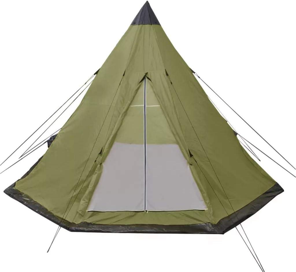 GOTOTOP Tienda de campaña 4 Personas Carpa para Camping con ...