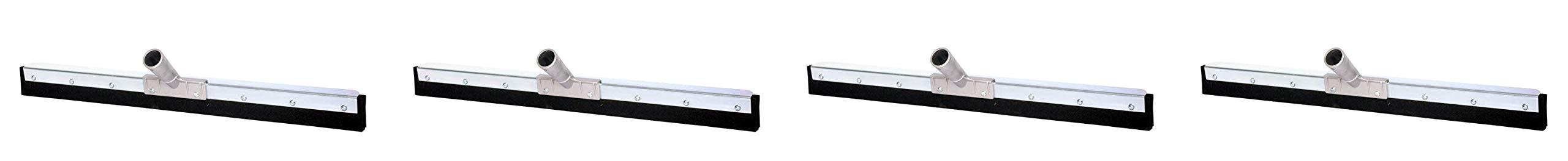 Haviland 0736 Double Nitrite Foam Rubber Standard Duty Floor Squeegee, 36'' Length, Black (4-(Pack))