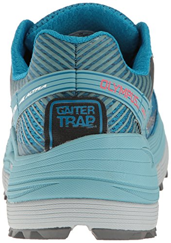 Altra Olympus 2.5 Womens Trail Running Shoe | Zero Drop Platform, FootShape Toe Box, Fit4Her Womens-Specific Design | Comfort and Stability On any Terrain Blue