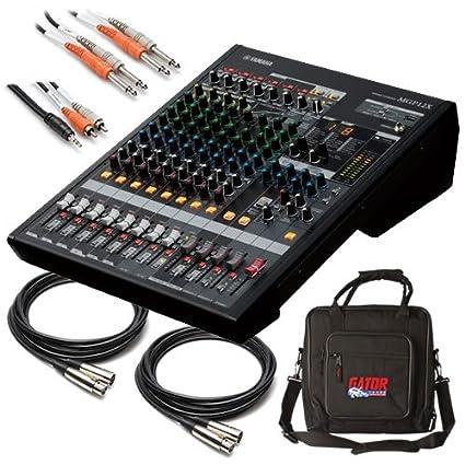 Yamaha mgp12 X 12 canales, 20 – 20000 Hz negro mesa de mezclas ...