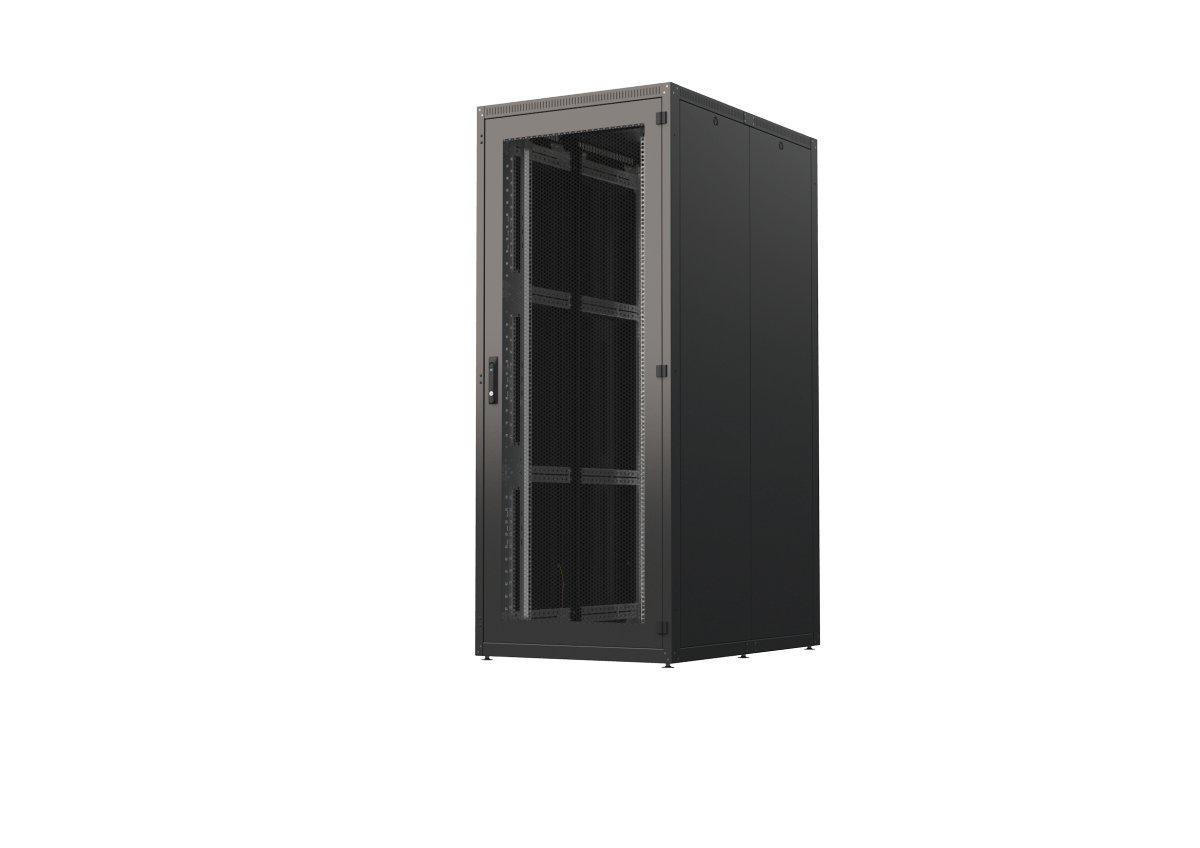 4Xracks 4S-4282 48,26 cm (19 Zoll) Serverschrank 4X, 42HE freistehend Schwarz