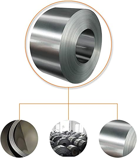 304 Stainless steel shrapnel foil DIY,Kitchen and Bath,Thick 0.05mm Stainless Sheet Metal for Flashing Decoration Arts /& Crafts Project Backsplash