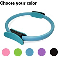 15 Dual Grip Handles for Indoor AODD Pilates Ring Weight Loss Body Toning Magic Circle and Resistance Exercise Fitness Ring Workouts Exercise Fitness Training Comfortable and Non-Slip