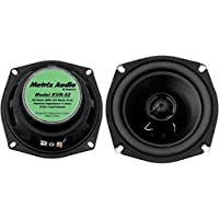Metrix KVR-52 Green Front Speaker (Fits Kawasaki Vaquero & Voyager (09-UP) VN1700A Works on bikes,& UTVs, ATVs, etc.)