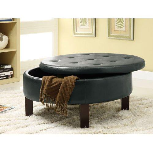 Coaster Home Furnishings 501010 Ottoman Dark