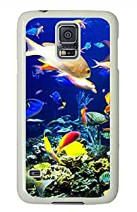 Submarine World 2 PC White Hard Case Cover Skin For Samsung Galaxy S5 I9600