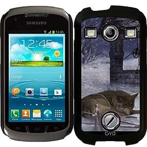 Funda para Samsung Galaxy Xcover 2 (S7110) - Invierno Lobo by Illu-Pic.-A.T.Art