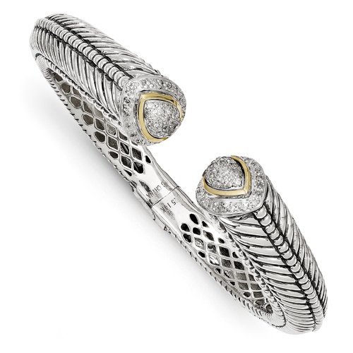 Prices for Diamond Hinged Cuff - 8