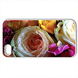 Floral rose Diy For Iphone 6 Case Cover protective case