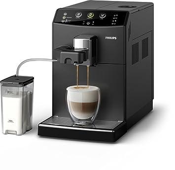 Philips 3000 series HD8829/09 - Cafetera (Independiente, Máquina espresso, 1,8 L, Molinillo integrado, 1850 W, Negro): Amazon.es: Hogar