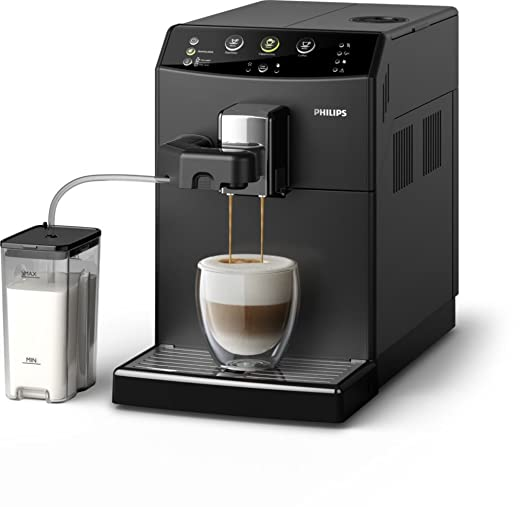 Philips 3000 series HD8829/09 - Cafetera (Independiente, Máquina espresso, 1,8 L, Molinillo integrado, 1850 W, Negro)