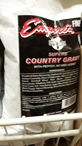 Empire's Finest Country Gravy Mix 24 Oz (6 Pack) by Empire