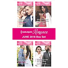 Harlequin Romance June 2018 Box Set: Amber and the Rogue Prince\Falling for the Venetian Billionaire\Miss White and the Seventh Heir\Road Trip with the Best Man